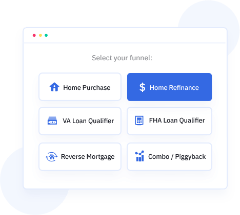 Mortgage Lead Funnels Software